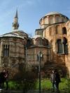 Die Chora-Kirche von hinten