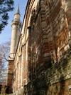 Chora Kirche - Kariye-Camii mit Blick auf Minarett