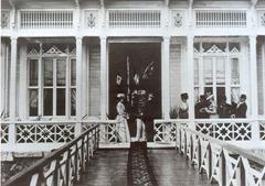Wilhelm II mit Gattin in Hereke